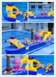 Long de l'eau gonflable Toy Jumping Obstacle Bouncer(MIC-112