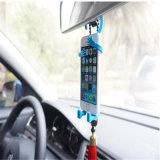 Gancho de leva flexible del soporte del teléfono celular para el coche y el hogar