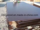 A película de Brown da madeira compensada da madeira compensada 18mm da colagem do Bwr enfrentou a madeira compensada