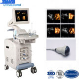 Hersteller 3D/4D Color Doppler Ultrasound mit Touch Screen