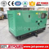 전력 플랜트 30kw 디젤 엔진 방음 Genset 40kVA 발전기
