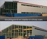 Construction légère préfabriquée d'entrepôt de structure métallique de coût bas (DG-M046)