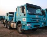 Sinotruk HOWO 6X4 콘테이너 수송 트레일러 트랙터 헤드 트럭