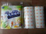 Rideaux de serviettes en papier de nettoyage de cuisine