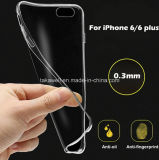 Uiterst dunne 0.3mm Transparent TPU Case voor iPhone5/5s/5se iPhone 6 6s Mobile Phone Cover