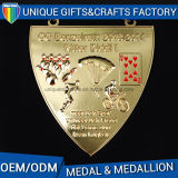 Metal Soft Souvenir Esmalte Medalha de Metal Medalhões Esportivos
