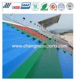 競技場の特別観覧席または駐車場または運動場または正方形の身につけられる余暇領域のフロアーリング