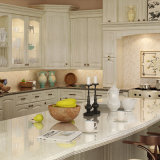 Oppein классический дуб деревянные кухонные шкафы (OP15-S08)