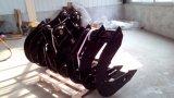 Pièces de machinerie de construction de la Pelle couverts godet de râteau faites dans le SF