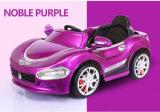 La Cina scherza l'automobile di telecomando del bambino dell'automobile elettrica con musica