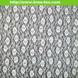 Спандекс расслабления кружевной ткани 585