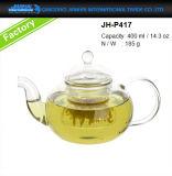POT di vetro dell'acqua del Cookware della famiglia 400-800ml per il creatore di tè
