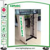 Elegante pantalla de madera personalizado Rack para Shop