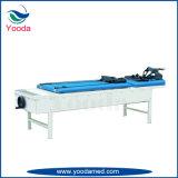 手動頚部および腰神経の牽引のベッド