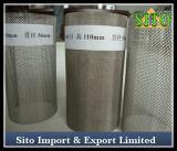 Filtre de cylindre de treillis métallique de filtre de treillis métallique