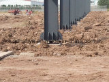 Costruzione chiara prefabbricata della struttura d'acciaio