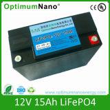 Ciclo profundo 12V 24V 48V 100ah LiFePO4 Bateria de íon de lítio para painel solar
