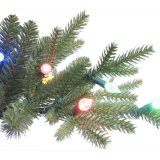 10.5フィート。 ちょうどアスペンのデラックスなもみの上等LEDがつける1100カラーの人工的なクリスマスツリーを切りなさい(MY100.077.00)
