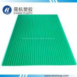de 4mm~10mm Gekleurde Holle Plaat van het Polycarbonaat met UVBescherming