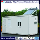 20FT Conteneur mobile des bâtiments avec des panneaux solaires