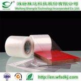 アルミニウムプロフィールまたはアルミニウム版またはアルミニウムプラスチックボードまたは曇らされたボードのためのPE/PVC/Pet/BOPP/PPの保護フィルム