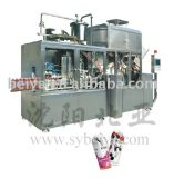 Egg Nog Gable Top Carton Filling Packaging Machine