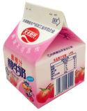 dreieckiger Karton 232ml für Milch-Saft/Sahne-/Wein-/Joghurt-/Wasser-Kasten