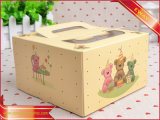 Pastel de alimentos de papel caja de embalaje Caja de papel de promoción de regalo