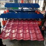 [دووبل لر] معدن سقف لوح لف يشكّل آلة