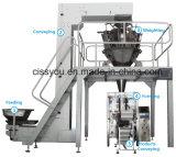 Pondération automatique des fruits secs Haricots de riz les écrous de l'emballage de bonbons de semences de légumes d'emballage Ligne de la machine