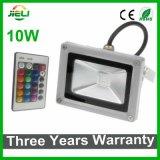 Garantie de trois ans Projecteur LED RGB 50W avec contrôleur infrarouge
