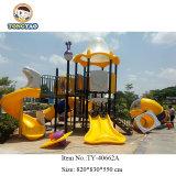 Usine Tongyao Diapositive de plein air en plastique coloré Commercial Aire de jeux (TY-40662)
