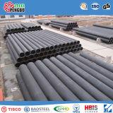 Tubo sin soldadura de acero al carbono laminado en caliente con SGS ISO