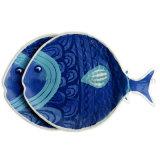 Placa de peixe de melamina de 11,5 polegadas (PT202)