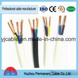 Le fil électrique gainé conduite sur le fil de cuivre gainé PVC