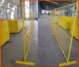 Régua de aço temporária de segurança/Painel de cerca temporária