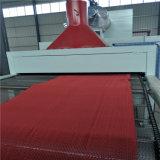 Belüftung-Plastikmatte, die Maschine hohlen Typen oder s-Typen/Strangpresßling-Produktionszweig bildet