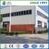 Edificio prefabricado del metal industrial del panel de emparedado