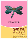 Il Fantasy Dragonfly Embroidery Patch Used per Clothes del Children