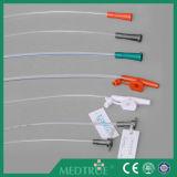 CE/ISO 승인되는 처분할 수 있는 의학 T 유형 연결관 흡입 카테테르 (MT58029021)