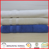 Satin Border DfS367の2016熱いSales 100%年のOrganic Cotton Thick Jacquard Bath Towel