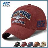 Изготовленный на заказ выдвиженческий логос вышивки бейсбольной кепки