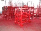 4-40 machines professionnelles de brique/bloc à vendre avec la fréquence de la vibration 4500r/Min
