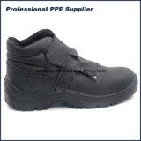 Sin cordón de la PU inyección impermeable Calzado de Seguridad Industrial