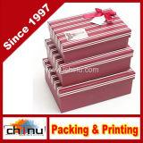 Caixa de embalagem do presente do papel de impressão de Cmyk de quatro cores (1291)