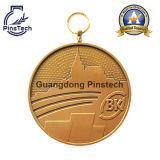 Fornitore professionista di medaglie personalizzate nell'illustrazione della Cina liberamente