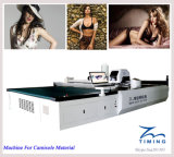 Vestuário da máquina de estaca da tela e da tela da máquina de estaca de pano das folhas/matéria têxtil/máquina estaca inteiramente automáticos industriais automáticos da tela