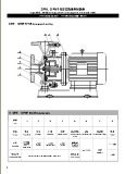Bomba centrífuga del alto estilo eficiente horizontal de Dfw con el certificado del Ce ISO9001