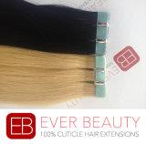 Самая лучшая лента в выдвижении человеческих волос Remy человеческих волос девственницы
