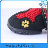 Breathable Haustier-Ineinander greifen-Schuhe für wasserdichten Hund lädt reflektierendes magisches Band auf